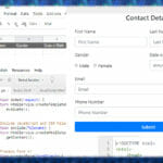 How to Create Data Entry Form with Google HTML Service and Submit Data to Google Sheets