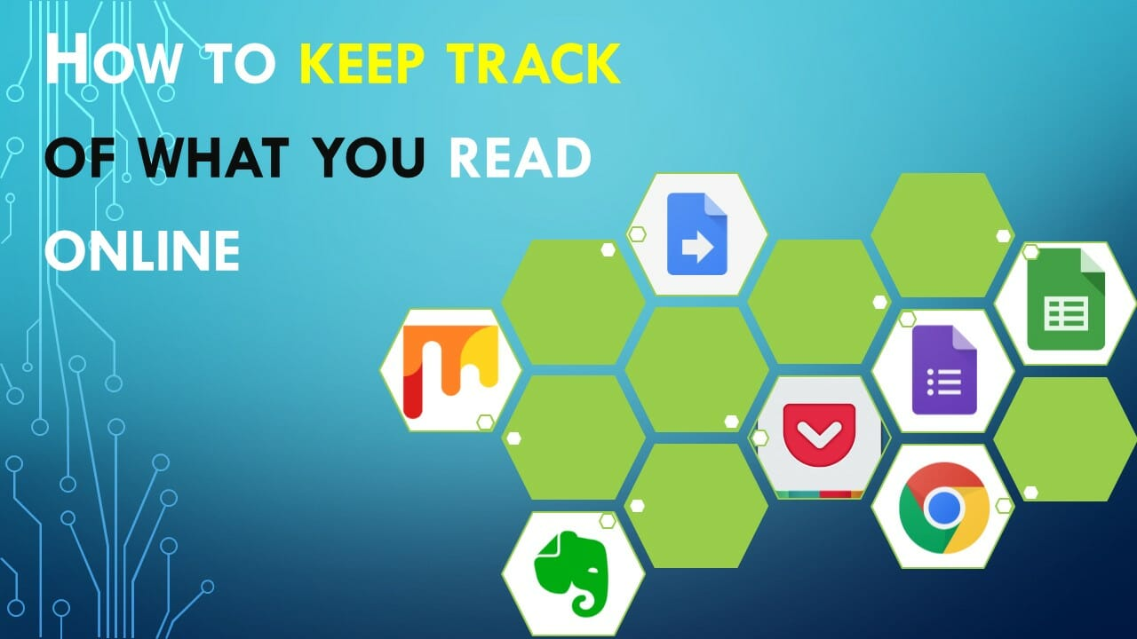 keep track of what you read online